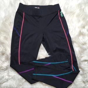 Fila Sport Running Women Black Medium Active Leg
